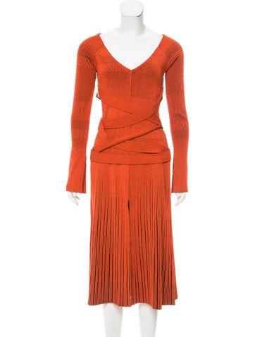 Proenza Schouler 2016  Rib Knit Dress None