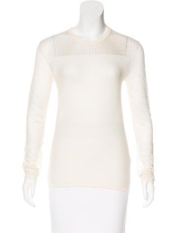 Proenza Schouler Wool Knit Sweater None