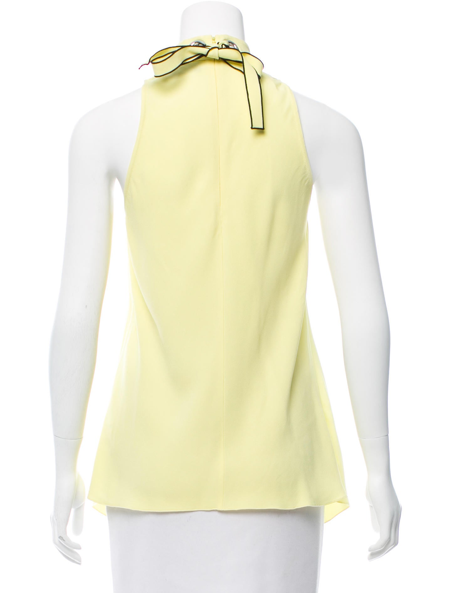 Proenza schouler sleeveless mock neck top clothing for Sleeveless mock turtleneck shirts
