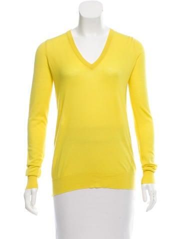 Proenza Schouler Wool Long Sleeve Top None