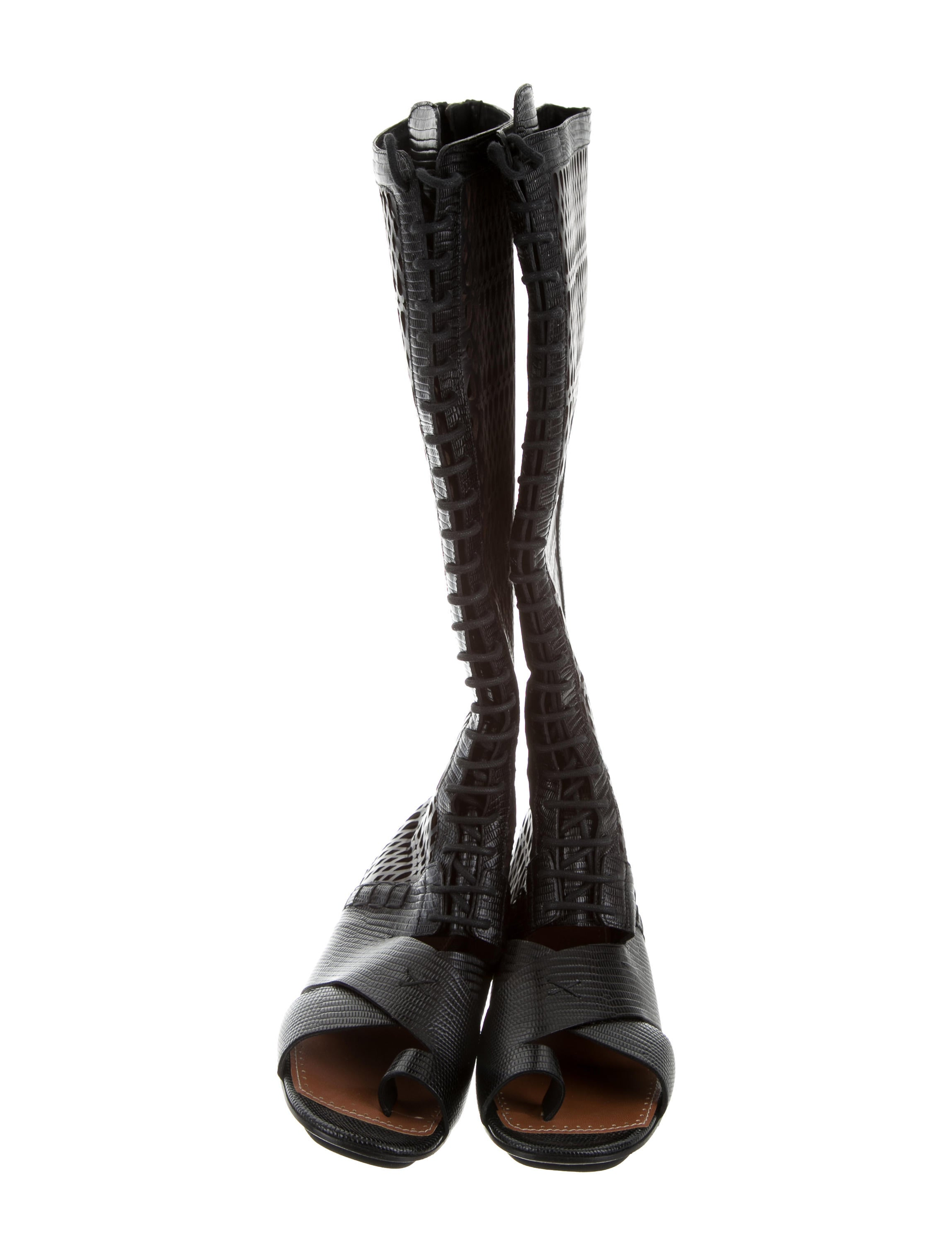 free shipping excellent Proenza Schouler Laser Cut Knee-High Boots nicekicks cheap price low price fee shipping cheap online buy for sale NEgw8QOLKd