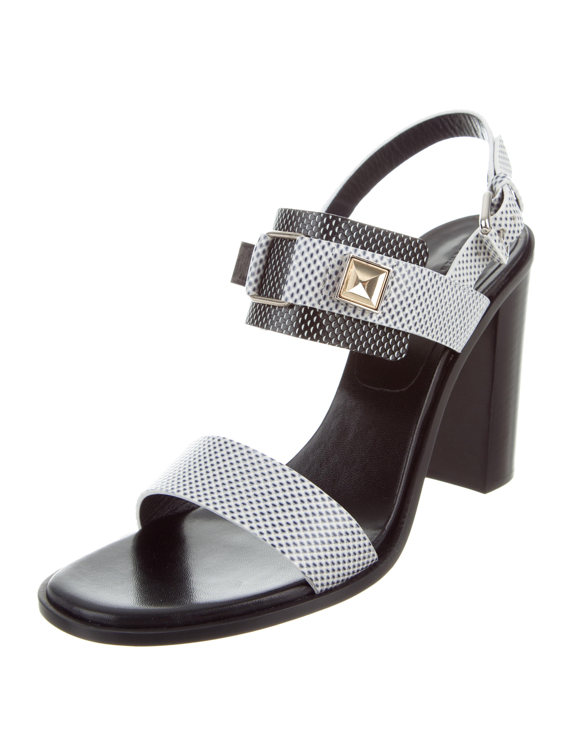 Proenza Schouler Harmon Leather Sandals w/ Tags low cost sale online cheap outlet locations CMjUQUMO0