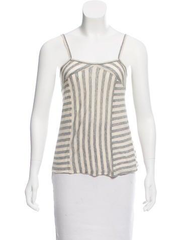 Proenza Schouler Stripe Knit Top None