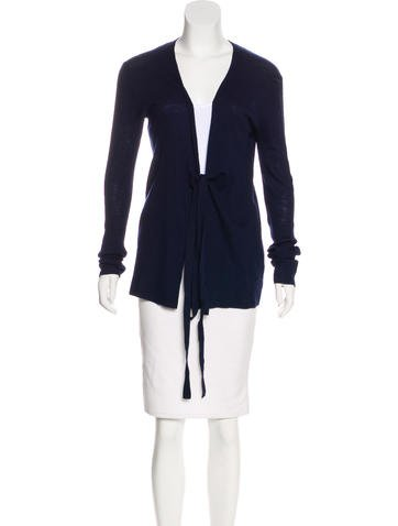 Proenza Schouler Wool Rib Knit Cardigan None