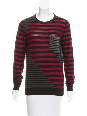Proenza Schouler Patchwork Striped Sweater None