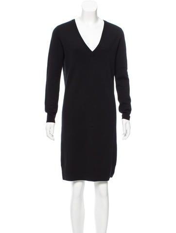 Proenza Schouler Wool Button-Up Dress w/ Tags None