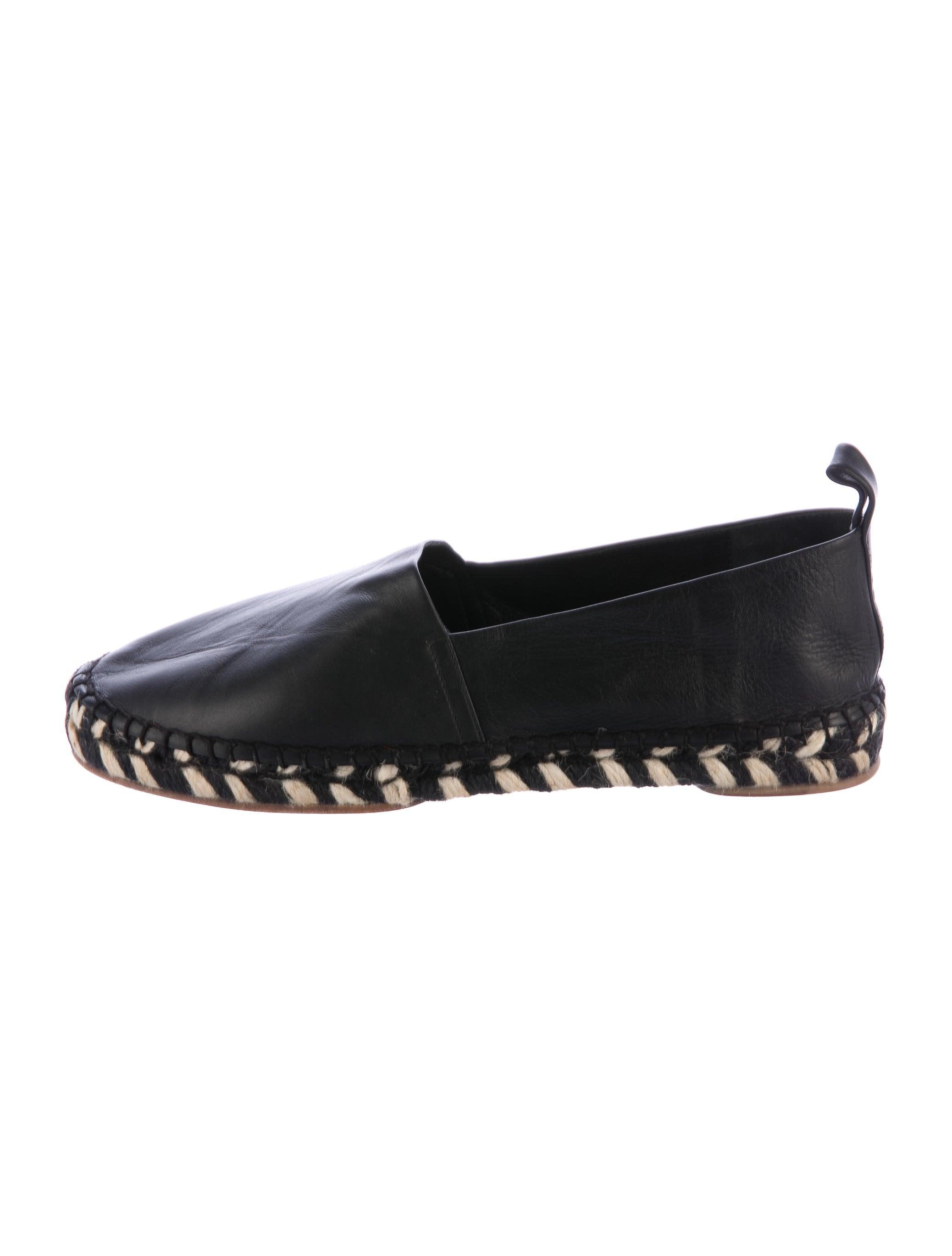 Proenza Schouler Leather Round-Toe Espadrilles cheap sale pictures C65JJ