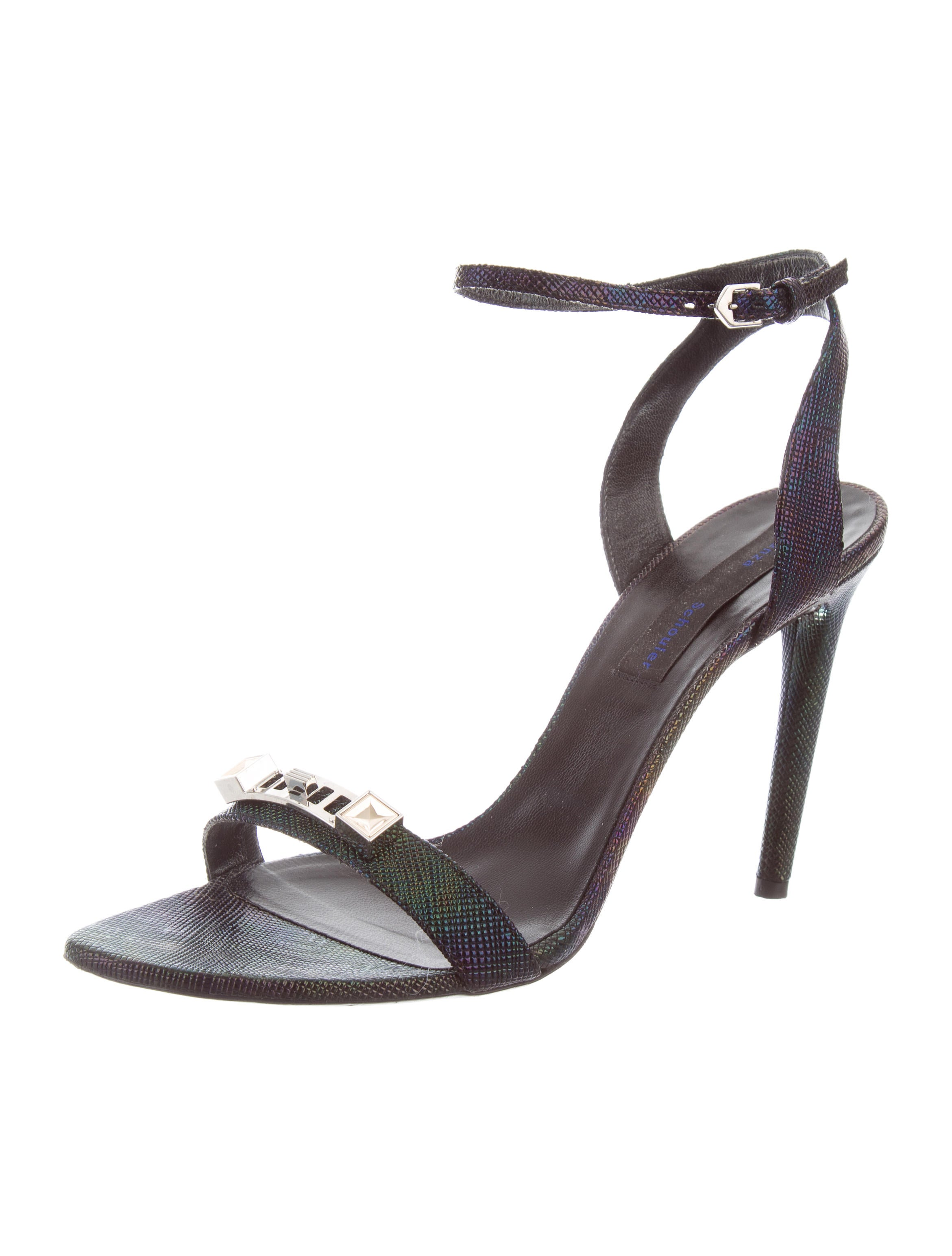 Proenza Schouler PS1 Iridescent Sandals free shipping huge surprise cheap low shipping eastbay cheap online sale prices tLomRaBct