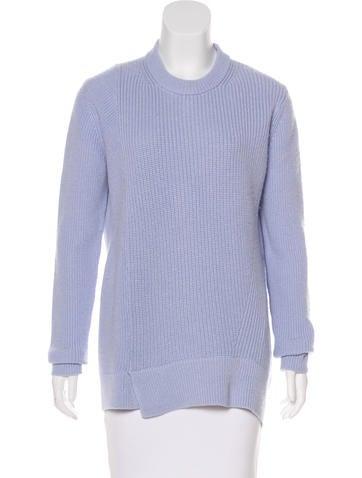 Proenza Schouler Cashmere-Blend Rib Knit Sweater None