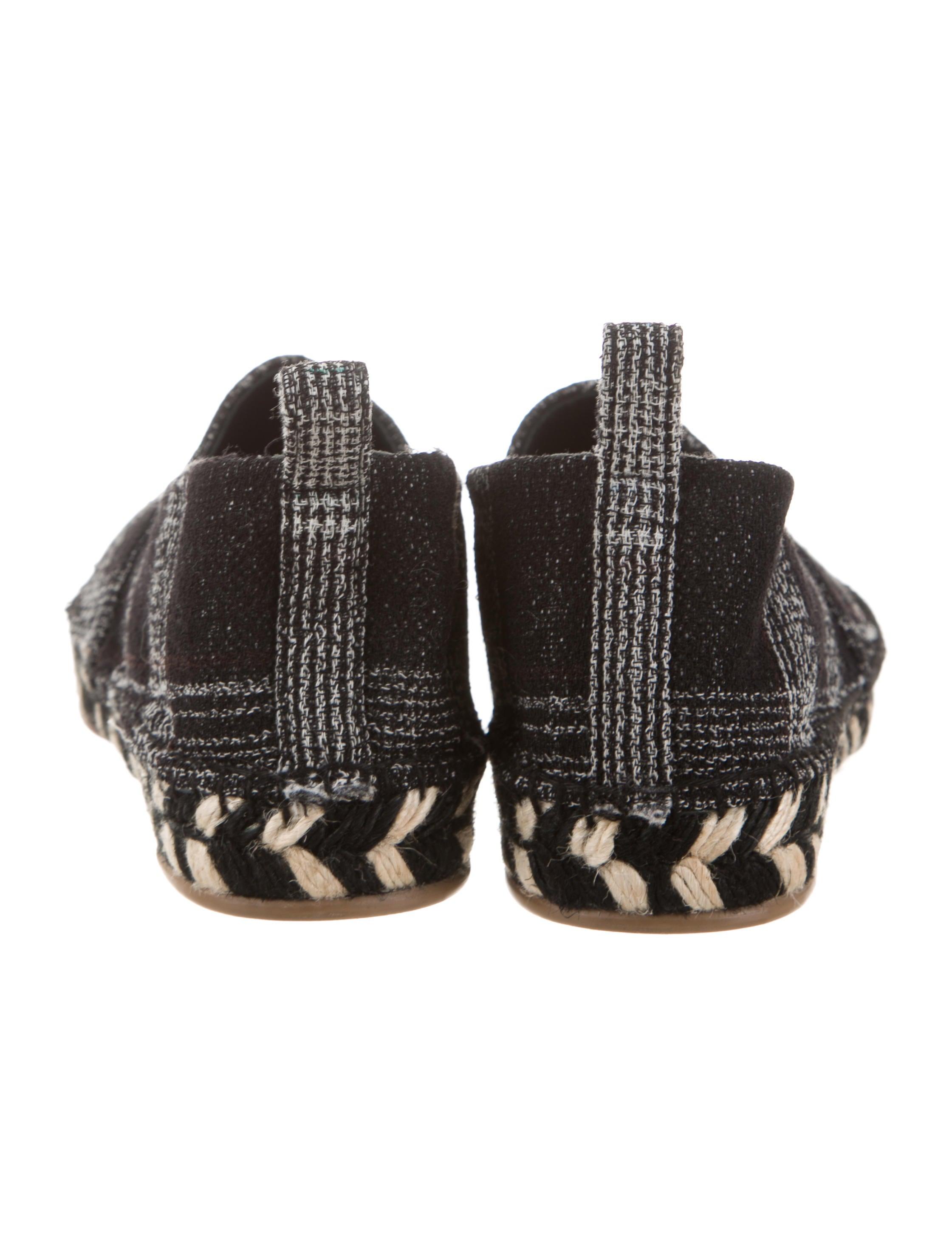 best wholesale sale finishline Proenza Schouler Knit Round-Toe Espadrilles BaOcF9