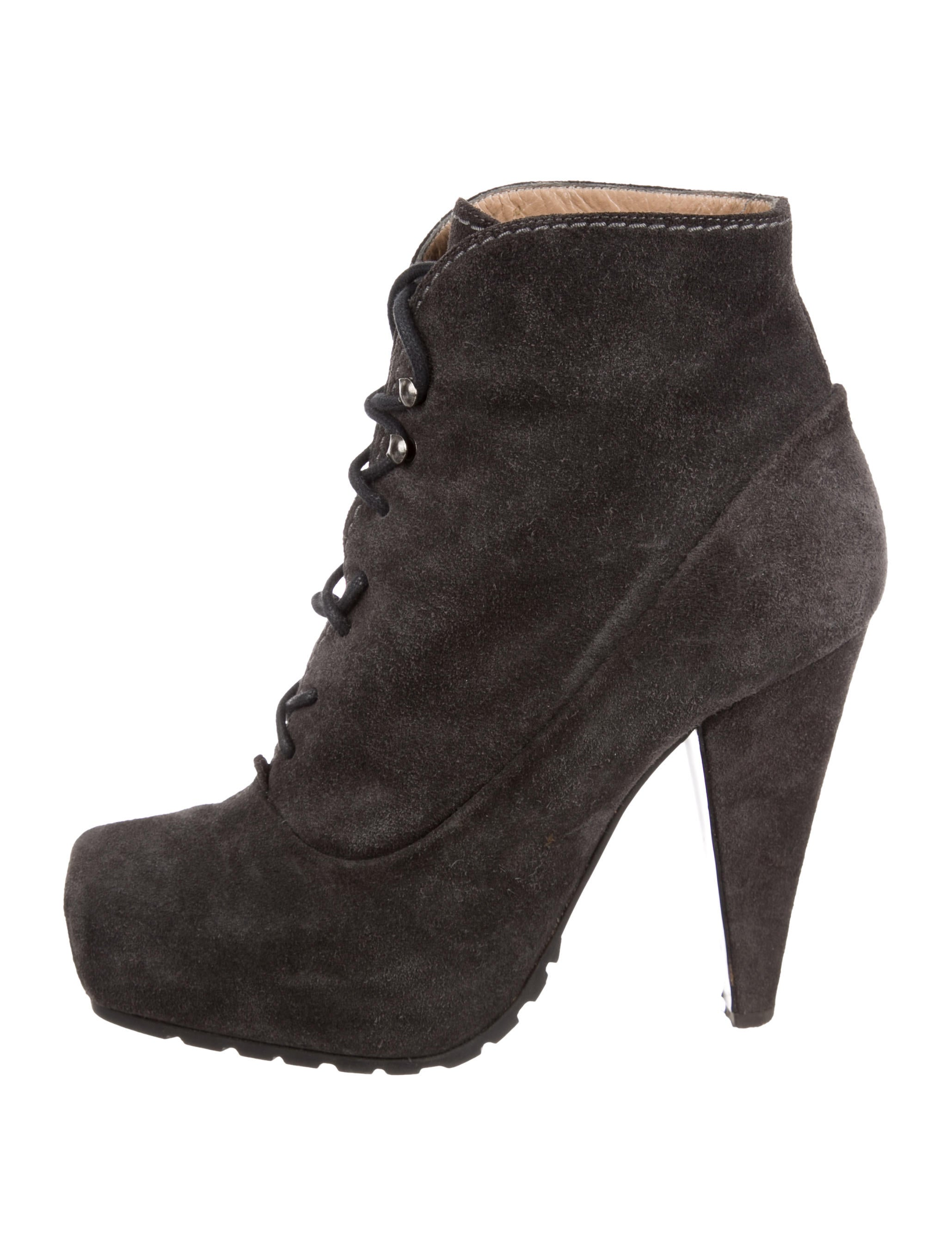 best cheap price largest supplier cheap price Proenza Schouler Square-Toe Suede Ankle Boots marketable sale online looking for great deals cheap online d33fcj3u