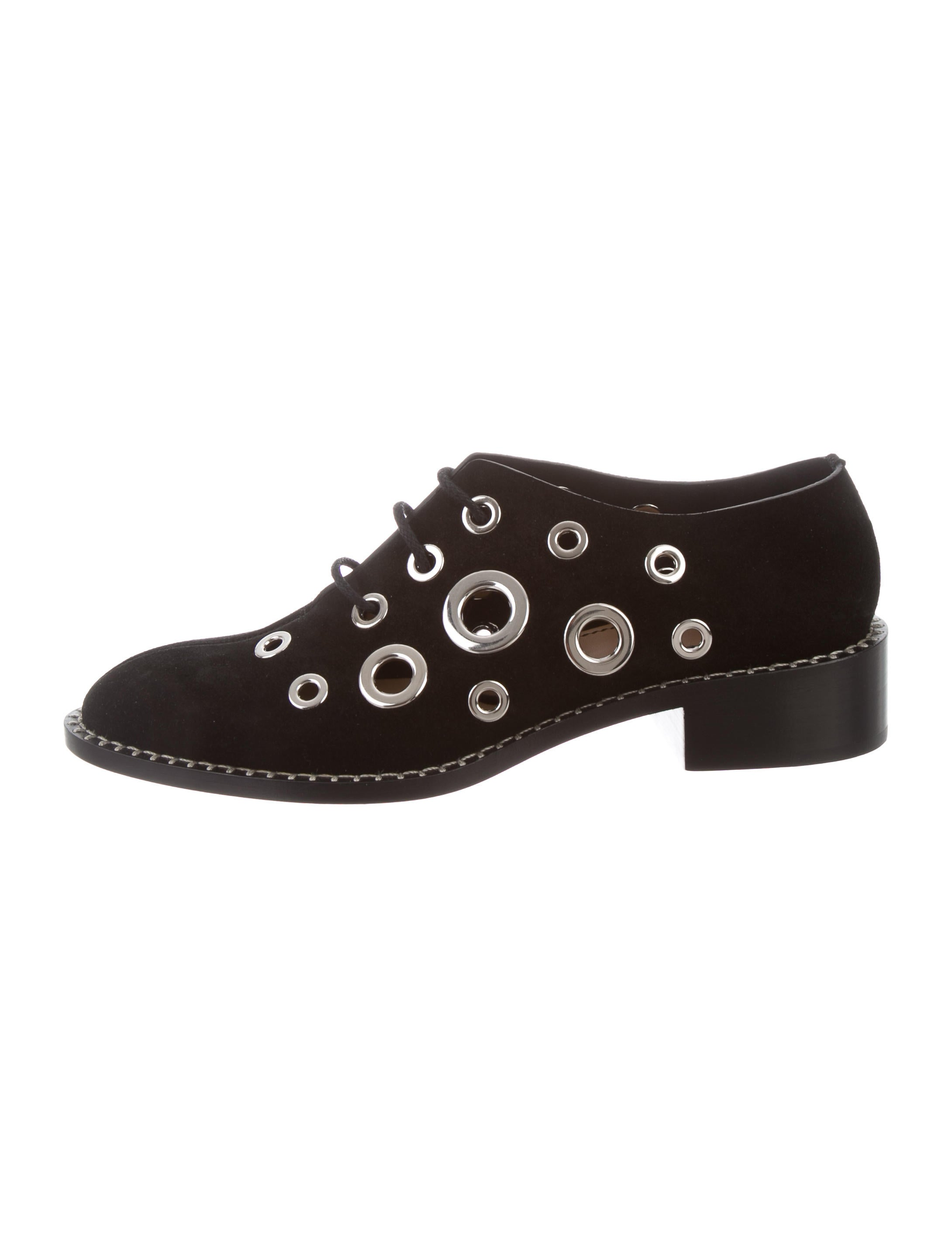 comfortable sale online Proenza Schouler Grommet-Embellished Leather Oxfords best for sale cheap brand new unisex cheap sale choice cheap sale good selling I3Z73mR