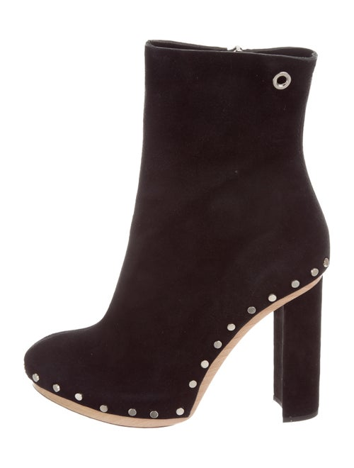 Proenza Schouler Studded Platform Boots Black