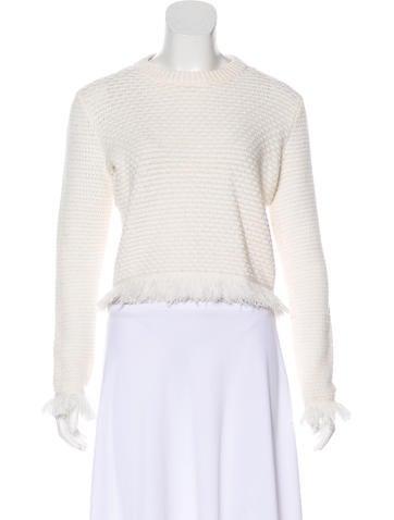 Proenza Schouler Wool-Blend Sweater None