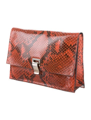 f4fd86c48b Proenza Schouler Snakeskin Lunch Bag - Handbags - PRO44609