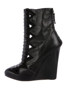 c7ef79f6cfc3 Proenza Schouler. Leather Cutout Boots