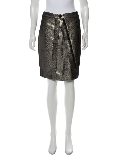 Proenza Schouler Metallic Pleated Skirt w/ Tags Me