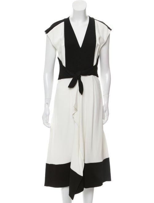 Proenza Schouler Sleeveless Midi Dress White