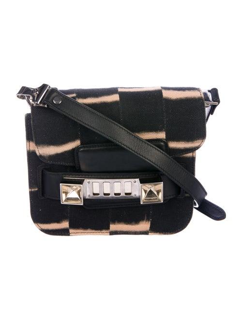 Proenza Schouler Tye Dye Crossbody Bag Black