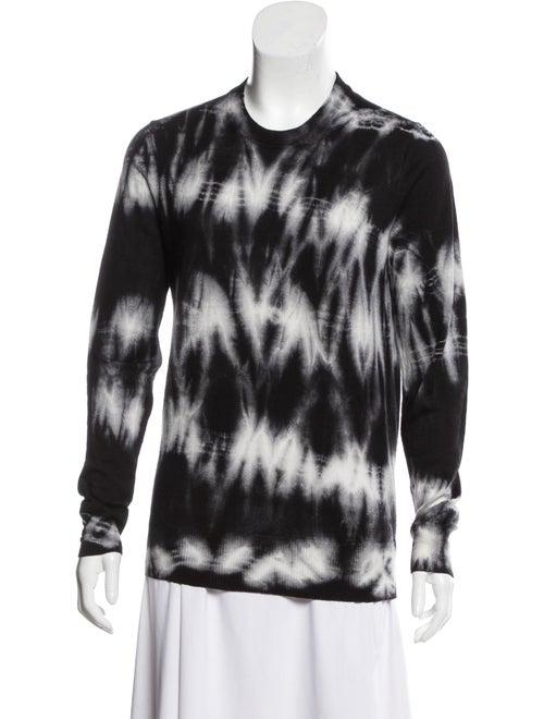 Proenza Schouler Wool Tie-Dye Sweater Black