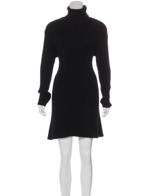 Proenza Schouler Wool Sweater Dress Black