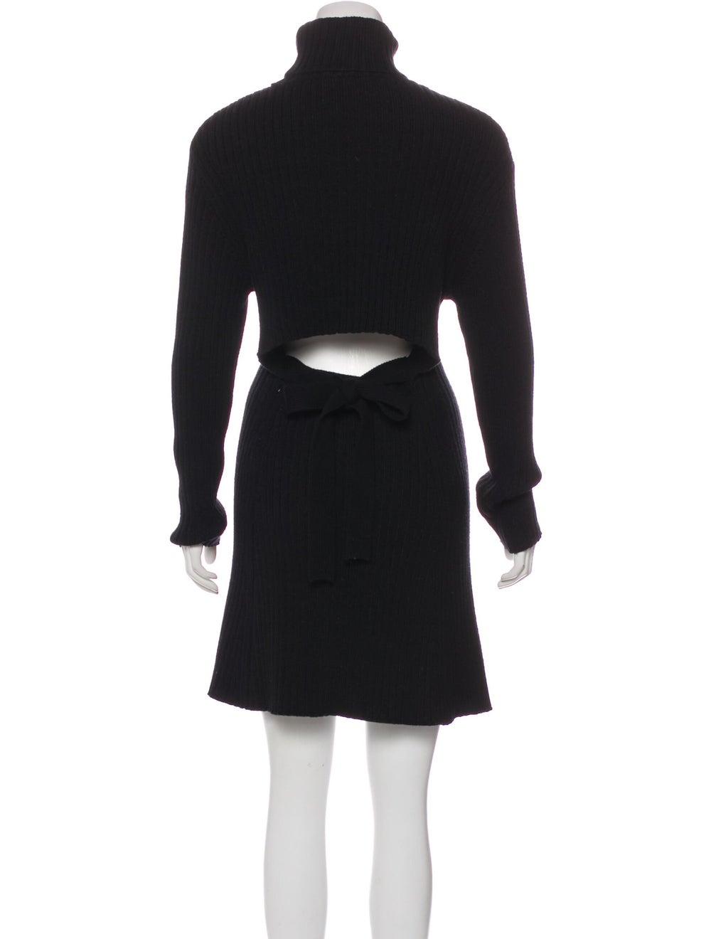 Proenza Schouler Wool Sweater Dress Black - image 3