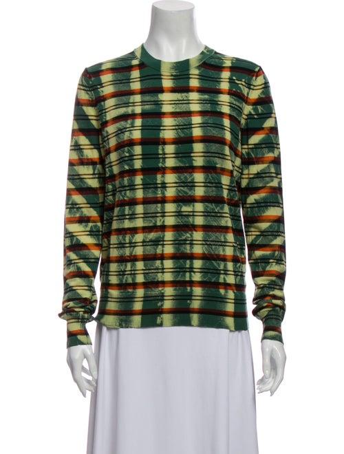 Proenza Schouler Tie-Dye Print Crew Neck Sweater G