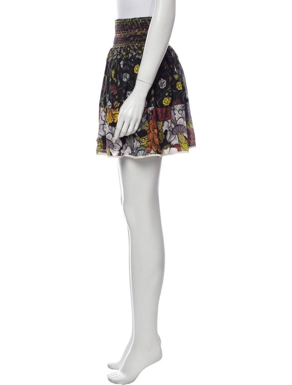 Proenza Schouler Silk Mini Skirt Black - image 2