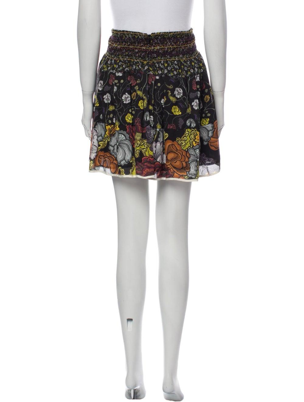 Proenza Schouler Silk Mini Skirt Black - image 3