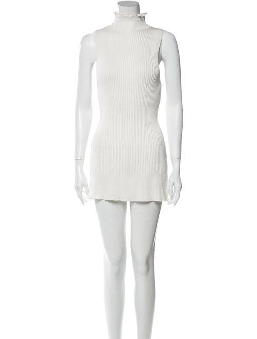 Proenza Schouler Turtleneck Mini Dress