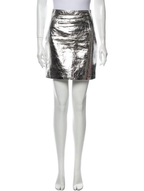 Proenza Schouler Mini Skirt Metallic