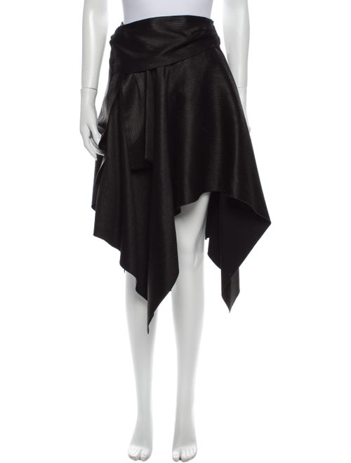 Proenza Schouler Pleated Accents Knee-Length Skirt