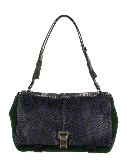 Proenza Schouler Courier Shoulder Bag Blue