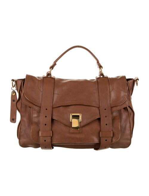 Proenza Schouler PS1 Leather Bag Brown