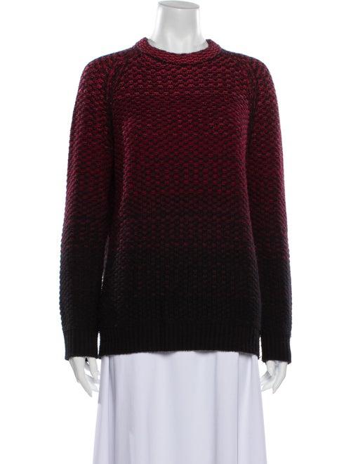 Proenza Schouler Cashmere Striped Sweater Black