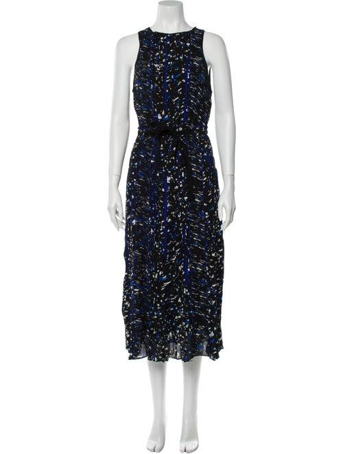 Proenza Schouler Silk Dress Black
