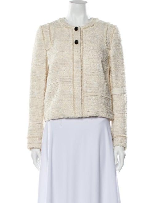Proenza Schouler Tweed Pattern Evening Jacket