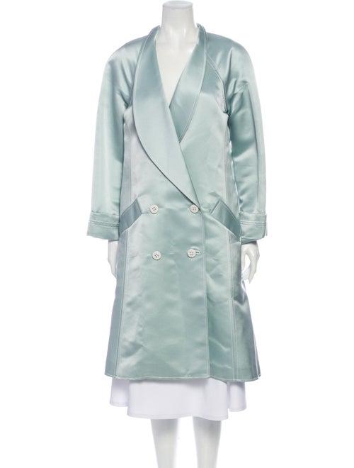 Proenza Schouler Coat Blue