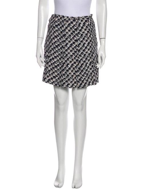 Proenza Schouler Printed Mini Skirt Black