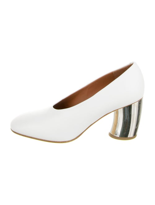 Proenza Schouler Leather Pumps White