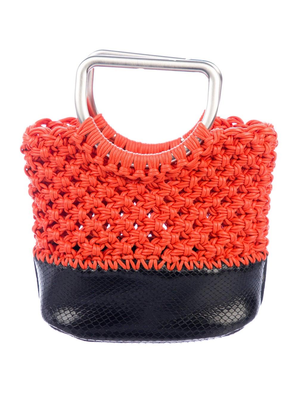 Proenza Schouler Small Market Macrame Bag Orange - image 1