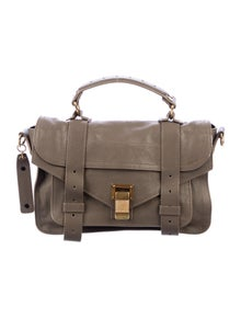 Proenza Schouler Leather Small PS1 Shoulder Bag