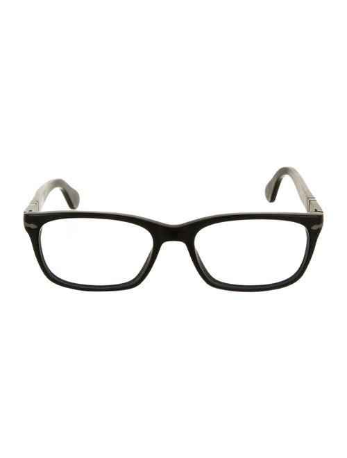 Persol Square Eyeglasses black