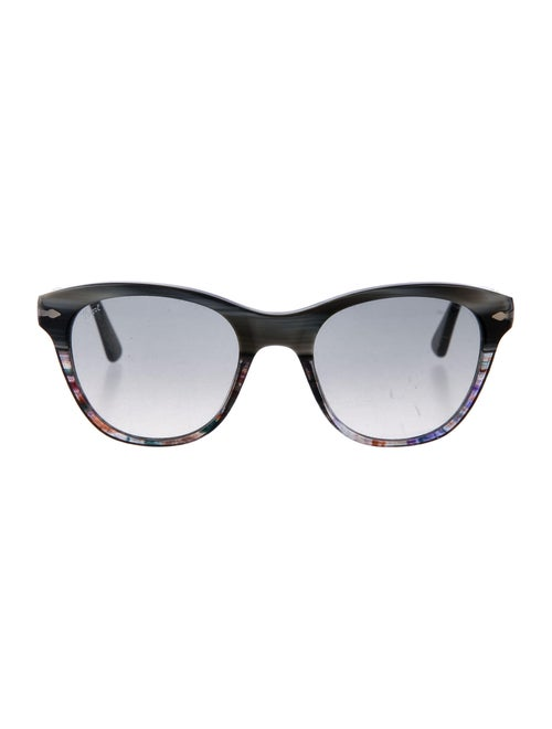 Persol Round Tinted Sunglasses Grey