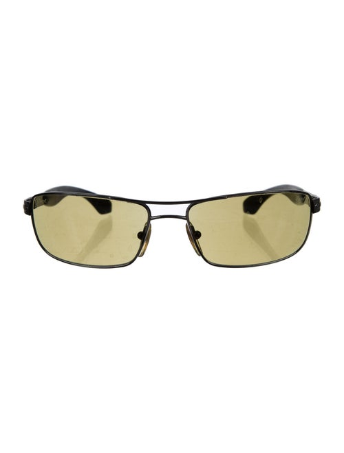 Persol Square Tinted Sunglasses