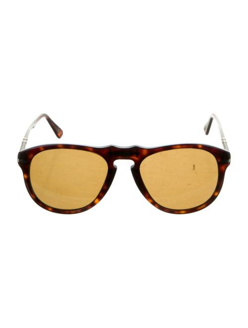Persol Tortoiseshell Aviator Sunglasses Brown