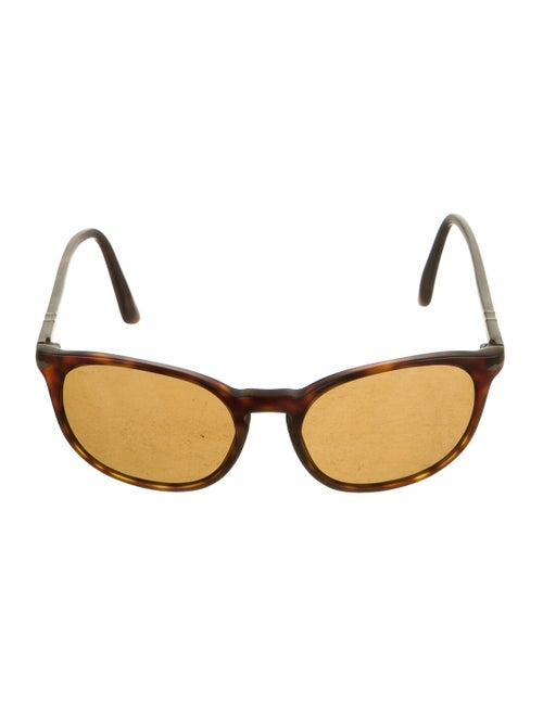 Persol Square Tinted Sunglasses Brown