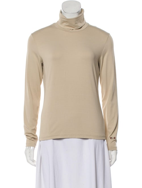 Post Card Turtleneck Long Sleeve Top