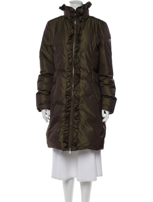 Post Card Down Coat Green