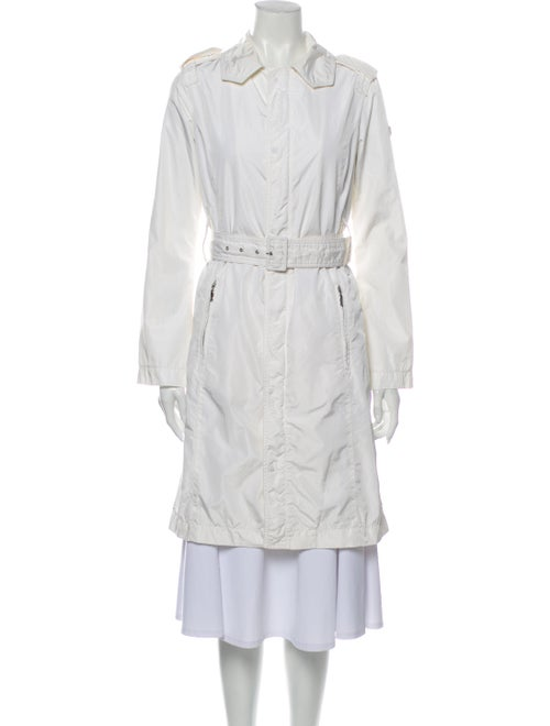 Post Card Trench Coat White
